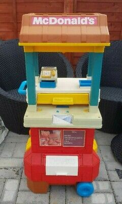 Large Vintage McDonalds Drive Thru Playset With Accessories (1989) Fisher Price • 23£