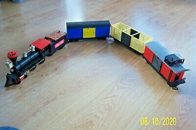 Vint Timpo Prairie Rocket Midnight Special Loco Tender + Freight Cattle Caboose • 179.50£