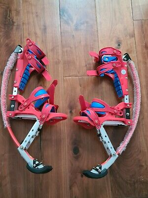 Brand New Red Child Jumping Spring Stilts Free Helmet,Knee Caps& Wrist Caps • 74.99£