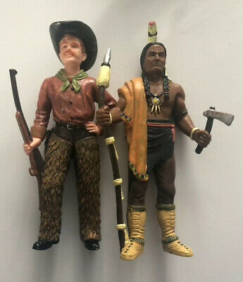 Cowboy And Indian Toys- Heavy And Solid Items • 1.99£
