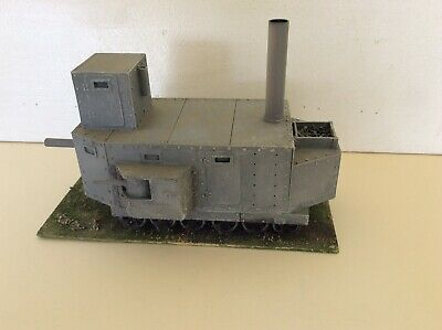 Ironclad Miniatures Tank Painted Steampunk 28mm Excellent  • 29.99£