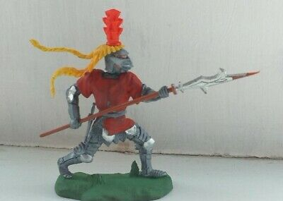 Britain's Swoppet Knight.  Footsoldier With Halberd • 10£