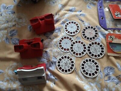 3 X GAF VIEW MASTERS WITH 7 Pics • 10£