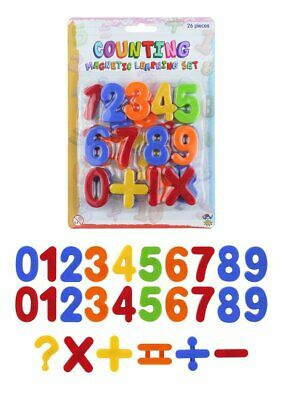 Pack Of 26 4cm Magnetic Numbers Set • 6.99£