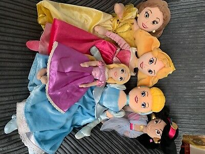 Disney Princesses Soft Toy Bundle • 10£