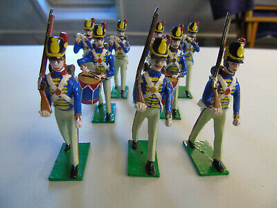 Painted Lead Soldiers Make Unknown Napoleonic Period • 5£