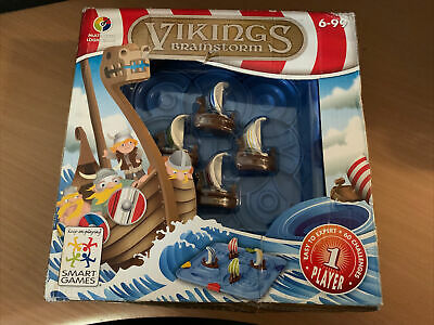Vikings Brainstorm Smart Games Multi Level Logic Game Used Complete 1 Player • 9.99£