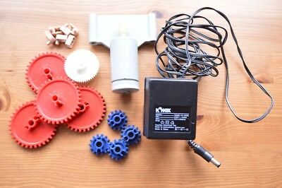 KNEX K'NEX  12v Electric Motor With Cogs. In Very Good Working Condition. • 23.99£
