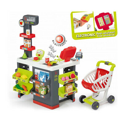 SMOBY Children's Supermarket Playset , 3 To 6 Years, (7600350213) • 85.99£