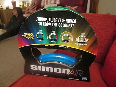 NEW Simon Air Electronic Memory Game - 1-2 Players - 8+ Ideal Gift Family Fun • 12.99£