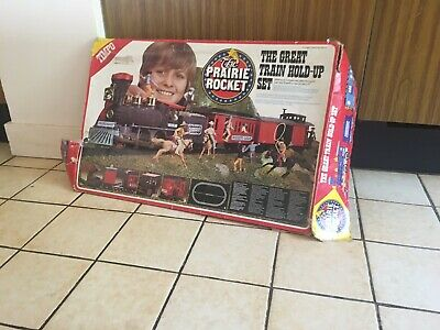 Timpo Prairie Rocket Train Set And Figures  • 120£