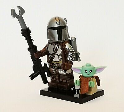 Star Wars The Mandalorian And Baby Yoda Lego Compatible Mini Figures, UK Seller • 3.50£