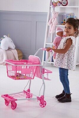 Bambolina Shopping Cart Doll And Play Food Kids Pretend Play Toy Trolley 9605  • 39.99£