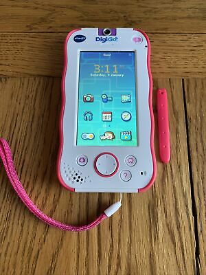 VTech DigiGo SmartPhone Pink Fantastic Condition With Charger And Stylus • 19.98£