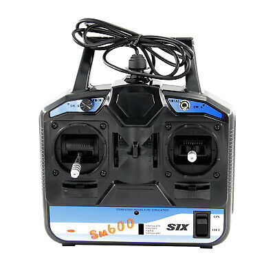FS-SM600 2.4GHZ USB RC Simulator For Radio Control Helicopter Fixed-wing • 27.68£