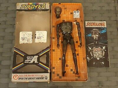 RARE Vintage Boxed 1970s Japanese Henshin Cyborg Muton Android A *SUPPORTS NHS • 299.99£