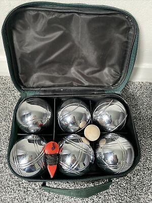 French Steel  Boules /  Set Of Six In Case  • 19.50£