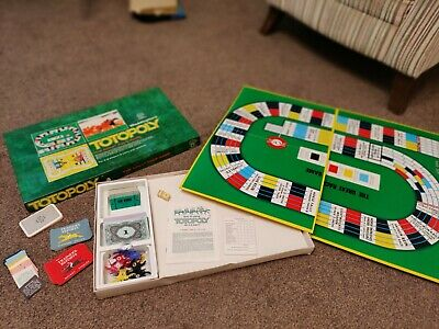 Waddingtons Totopoly Board Game - Original And Complete 1980s  • 9.99£