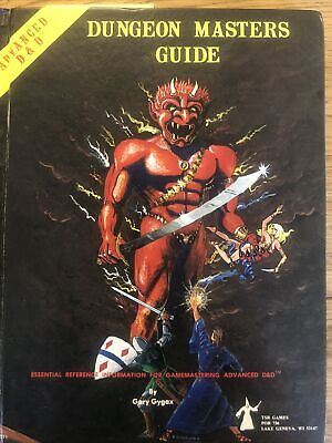 TSR Advanced D & D Dungeon Masters Guide Revised Edition Dec 1979 Gygax Vintage • 12.39£