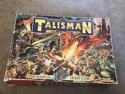 Talisman Games Workshop Board Game Vintage 3rd Edition With 2 Expansion Packs • 73£