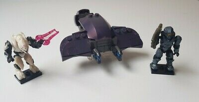 Halo Mega Bloks Rapid Attack Covenant Ghost 99% Complete • 12.50£