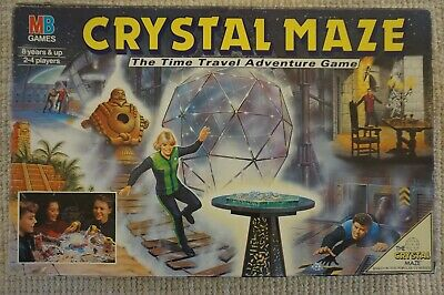 Vintage 1993 The Crystal Maze Board Game MB Games • 9.99£