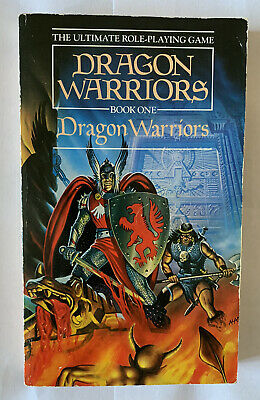 Dragon Warriors Book One: Dragon Warriors Rare 1985 Paperback • 9£