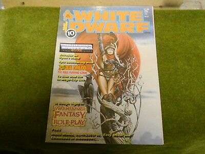 White Dwarf Issue 94 Oct 1987 Very Rare And Old • 2£