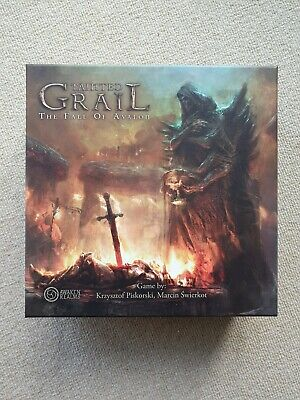 Tainted Grail Board Game + Monsters Of Avalon + Kickstarter Extras • 21£
