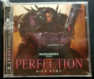Warhammer 40k Audio CD Perfection The Emperor's Children Sealed 2012 Nick Kyme • 0.99£