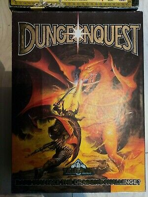 Dungeonquest Board Game 1987 Games Workshop New %100 Complete And Boxed • 60£