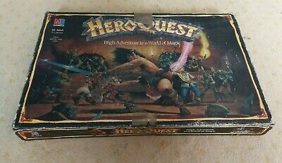 HeroQuest Board Game 1989 MB Games Hero Quest Used • 39£