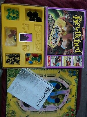 BEWITCHED Board Game WADDINGTONS 1988 VINTAGE + RARE • 39.99£