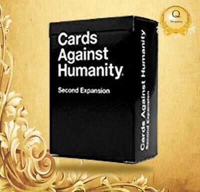 NEW Cards Against Humanity: Second Expansion UK Edition FREE & FAST DELIVERY!! • 9.90£
