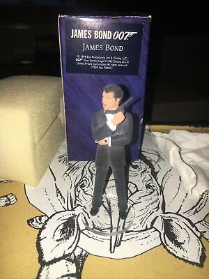 CORGI JAMES BOND ICON FIGURE - JAMES BOND (GOLDENEYE) (F04071) 1999 - Boxed MINT • 34.99£
