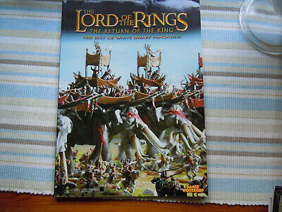 Games Workshop LOTR - The Return Of The King - The Best Of White Dwarf Magazine • 4£