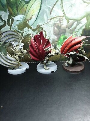 3 Warhammer Age Of Sigmar Flesh Eater Courts Crypt Flayers Started Painting  • 5.50£