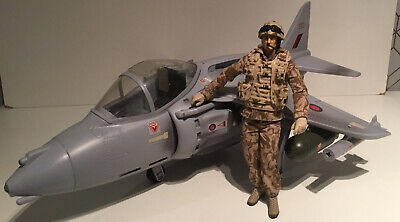 HM Armed Forces Jet Fighter Plane With  Action Figure • 15£
