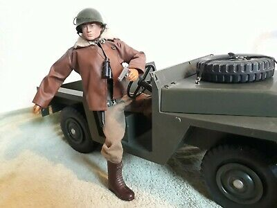 Vintage Action Man Palitoy US With Land Rover & Paperwork As Photoed • 85£