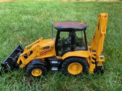 JCB Backhoe Loader - Diecast JOAL 1:25 Scale - Very Good Working Condition • 112£