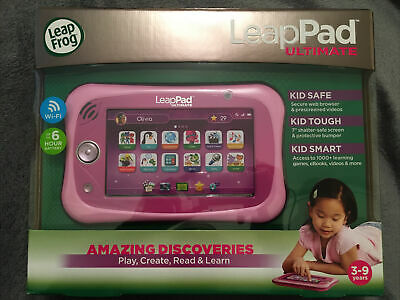 Leap Frog LeapPad Ultimate Pink SEALED • 70£
