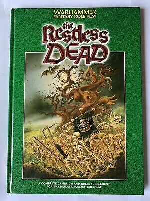 The Restless Dead: Campaign & Rules Supplement For Warhammer Fantasy Roleplay • 25£