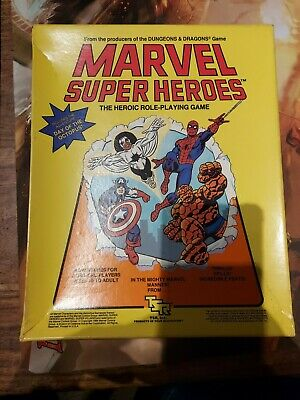 Marvel RPG Super Heroes TSR Day Of The Octopus Unpunched Role Playing Game • 80£