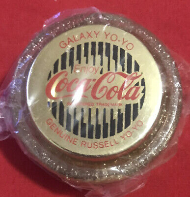 "Coca Cola YoYo GOLD ""Galaxy"" ""New Old Stock"" Coke Yo Yo • 45.44£"