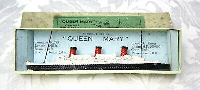 V Rare  1934 Queen Mary Cunard White Star Line Crescent Series  Boxed 1/1800  • 89£
