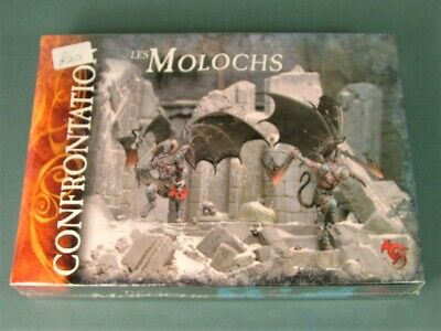 Rackham Confrontation - Les Molochs - SEALED - Cards Could Be French • 74.50£