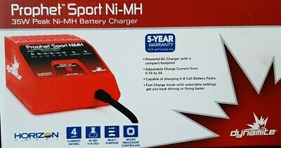 HORIZON HOBBY Prophet Sport NI-MH 35W Peak Battery Charger For Hobbyists • 29.95£