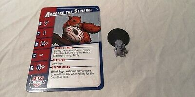 Blood Bowl Akhorne Card And Miniature • 20£