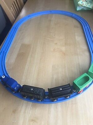 Wooden Train On Tomy Track Push Along  • 10£