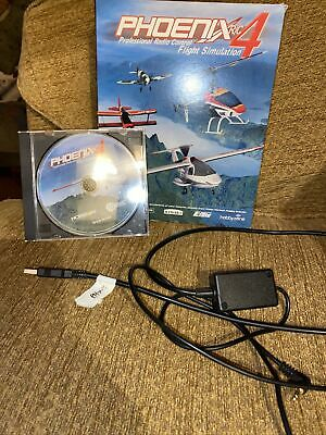 Phoenix RC 4 Flight Simulator Software DVD And Cable • 30£